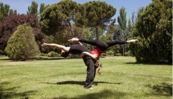 Taller de acrobacias de circo