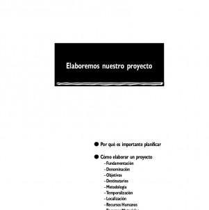 Cómo elaborar proyectos