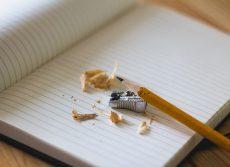 cuaderno y lapiz