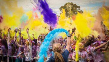 The Color Run, en Alcobendas