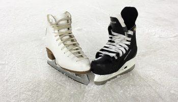 Salida pista de patinaje