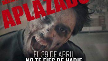 Los zombis se aplazan al 31 de octubre