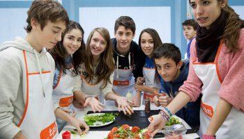 Noche internacional: cena+taller de cocina