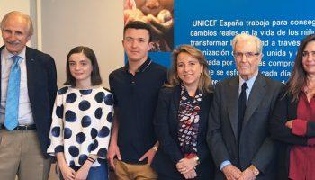 Entrega de los Premios UNICEF 2017