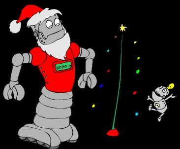 robotica navidad