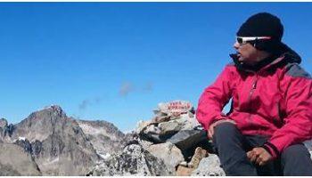 Uso del smartphone en la montaña